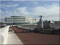 SD4264 : The Midland Hotel, Morecambe by Will Fly