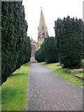 SD5137 : Church of St. Lawrence, Barton by Maigheach-gheal