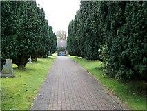 SD5137 : Path to the Lych Gate, Barton by Maigheach-gheal