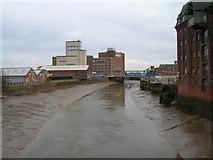 TA1029 : The River Hull from north Bridge by JThomas