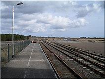 ND1559 : Mult-tracks at Georgemas Station by Peter Moore