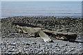 SN5066 : Old slipway by Nigel Brown