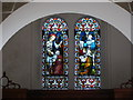 ST3757 : Christon church - East window by Ruth Sharville