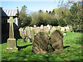 TG0206 : The church of St Peter in Reymerston - churchyard by Evelyn Simak