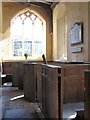 TG0206 : The church of St Peter in Reymerston - C15 box pews by Evelyn Simak