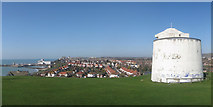 TR2336 : View over Folkestone by Oast House Archive