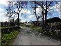C1718 : Road at Gortnavern by Kenneth  Allen