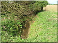 TA2033 : Field drain off Humbleton Road, Near Lelley by JThomas