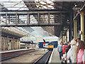 SE1416 : Charter train entering Huddersfield station by Stephen Craven