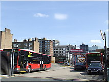 TQ3179 : Waterloo bus garage by Malc McDonald