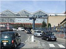 TQ3179 : Spur Road, Waterloo Station by Malc McDonald