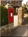 SY6989 : Dorchester: postbox № DT1 116, Herringston Road by Chris Downer