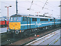 TG2408 : Anglia train at Norwich (2) by Stephen Craven