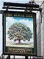 SD3084 : Sign for the Royal Oak by Maigheach-gheal