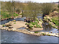 SD7912 : River Irwell at Burrs Country Park by David Dixon