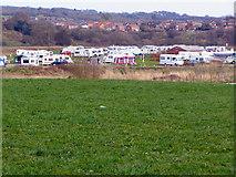 SD7912 : Burrs Caravan Site by David Dixon