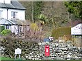 NY3403 : Postbox, Skelwith Bridge by Maigheach-gheal