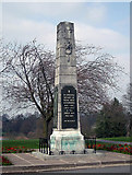 SP2871 : The War Memorial - Kenilworth by Row17