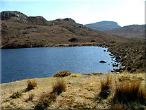 NG7655 : Southern shore of Loch na Creige by Dave Fergusson