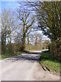 TM2565 : Chapel Road, Saxtead by Adrian Cable