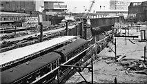 SP0786 : Birmingham New Street Station under reconstruction: east end by Ben Brooksbank