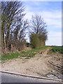 TM2666 : Bridleway to Framlingham Hall by Geographer