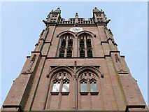 SO8286 : Church Tower at Enville, Staffordshire by Roger  Kidd