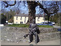 O1360 : Seamus Ennis Statue, The Naul, Co Dublin by C O'Flanagan
