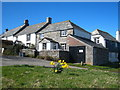 SX1497 : Holiday cottages at St Gennys by Rod Allday