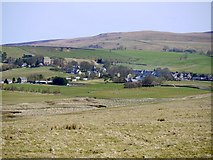 NY9393 : Elsdon Village by Andrew Curtis
