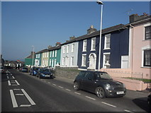 SN4562 : Painted Houses Aberaeron by Anthony Parkes