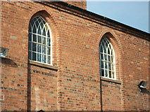 SP2872 : Detail of original Kenilworth Congregational Church (now the URC) by John Brightley