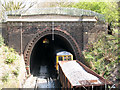 TQ4178 : Charlton Tunnel with ballast train by Stephen Craven