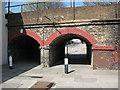 TQ4178 : Rail subway, Ransom Road, Charlton by Stephen Craven