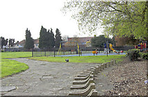 TQ1281 : Cranleigh Park, Cranleigh Gardens, Southall by Andrew Hackney