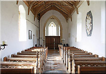 TF9624 : St Helen, Gateley, Norfolk - West end by John Salmon