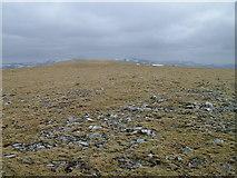 NN9483 : Eastern plateau of An Sgarsoch by David Brown