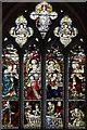 TM0287 : St Andrew, Quidenham, Norfolk - Window by John Salmon