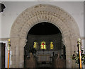 ST7469 : Norman Chancel Arch by Rick Crowley
