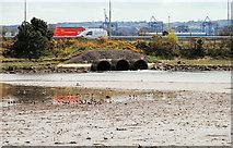 J3580 : Whitehouse lagoon, Newtownabbey by Albert Bridge