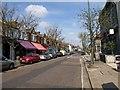 TQ2175 : White Hart Lane, Mortlake by Derek Harper