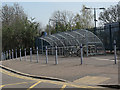 TQ4078 : Cycle parking at Westcombe Park railway station by Stephen Craven