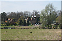 TQ7136 : Oast House at Risebridge Health And Sports Club, Ranters Lane, Goudhurst, Kent by Oast House Archive