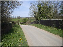 ST1273 : Bridge over dismantled railway by John Lord