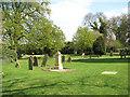 TF4807 : The church of St Edmund in Emneth - churchyard by Evelyn Simak