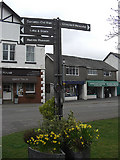 SD3097 : Finger post, Coniston by michael ely