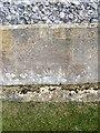 SU2140 : Bench Mark, St Andrew's Church by Maigheach-gheal