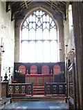 TF5617 : All Saints church in Tilney All Saints - the chancel by Evelyn Simak