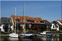 SU4208 : Hythe Marina, Hampshire by Peter Trimming