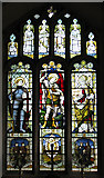 TF5002 : St Peter's church - south aisle chapel east window by Evelyn Simak